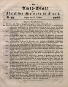 Amts-Blatt der Königlichen Regierung zu Liegnitz, 1862, Jg. 52, No. 42