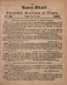 Amts-Blatt der Königlichen Regierung zu Liegnitz, 1864, Jg. 54, No. 24