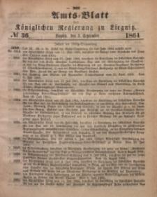 Amts-Blatt der Königlichen Regierung zu Liegnitz, 1864, Jg. 54, No. 36