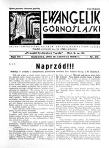 Ewangelik Górnośląski, 1938, R. 7, nr 25