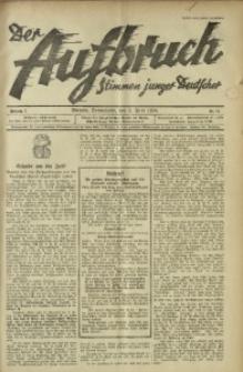 Der Aufbruch, 1934, Jg. 2, Nr. 14