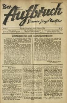 Der Aufbruch, 1934, Jg. 2, Nr. 31