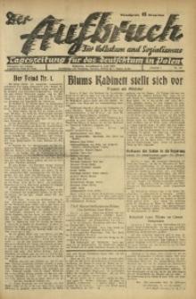 Der Aufbruch, 1936, Jg. 4, Nr. 112
