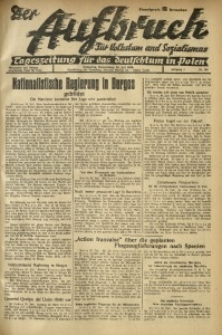 Der Aufbruch, 1936, Jg. 4, Nr. 156