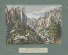 Weckelsdorfer Felsen der Wartthurm und die Sennerhütte