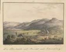 Die Petersbaude mit Ausicht nach Schmiedeberg