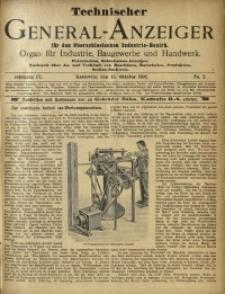 Technischer General-Anzeiger für den Oberschlesischen Industrie-Bezirk, 1902, Jg. 9, No. 2