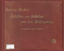 Ansichten aus Schlesien und dem Riesengebirge. 25 Stahlstiche nach Originalen (okładka albumu)