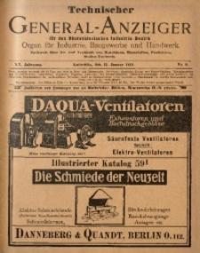 Technischer General-Anzeiger für den Oberschlesischen Industrie-Bezirk, 1914, Jg. 20, No. 8