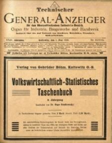 Technischer General-Anzeiger für den Oberschlesischen Industrie-Bezirk, 1918, Jg. 24, No. 16/17/18