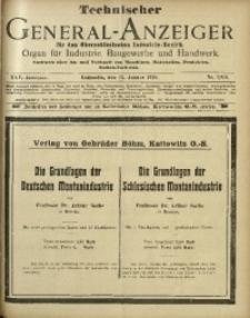 Technischer General-Anzeiger für den Oberschlesischen Industrie-Bezirk, 1919, Jg. 25, No. 7/8/9