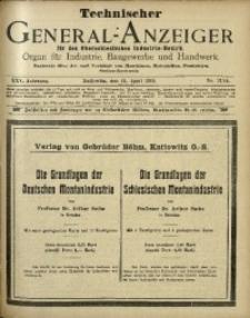 Technischer General-Anzeiger für den Oberschlesischen Industrie-Bezirk, 1919, Jg. 25, No. 13/14