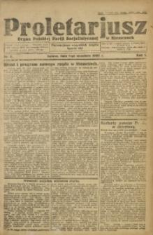 Proletarjusz, 1923, R. 1, nr 5