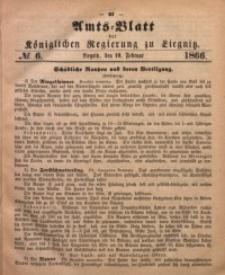 Amts-Blatt der Königlichen Regierung zu Liegnitz, 1866, Jg. 56, No. 6