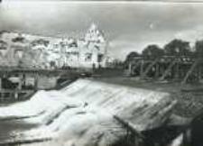 Brzeżany. Zniszczony młyn, przed 1916 r.