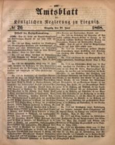 Amts-Blatt der Königlichen Regierung zu Liegnitz, 1868, Jg. 58, No. 26