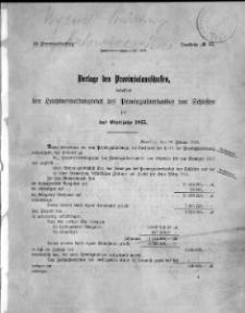 53. Provinziallandtag, Drucksache No. 13