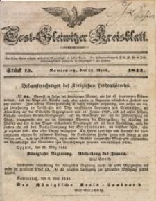Tost-Gleiwitzer Kreisblatt, 1844, Jg. 2, St. 15
