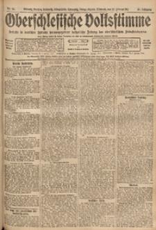 Oberschlesische Volksstimme, 1911, Jg. 37, Nr. 43