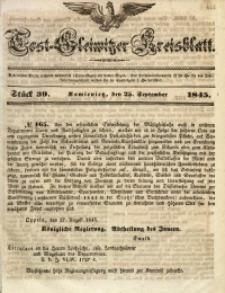 Tost-Gleiwitzer Kreisblatt, 1845, Jg. 3, St. 39