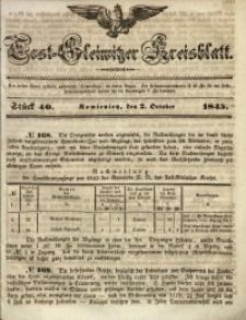 Tost-Gleiwitzer Kreisblatt, 1845, Jg. 3, St. 40