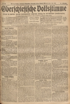 Oberschlesische Volksstimme, 1911, Jg. 37, Nr. 49