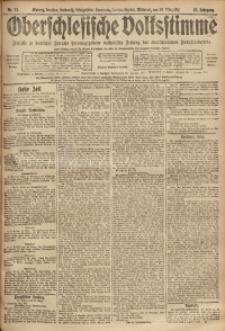 Oberschlesische Volksstimme, 1911, Jg. 37, Nr. 72