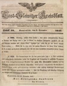 Tost-Gleiwitzer Kreisblatt, 1847, Jg. 5, St. 48