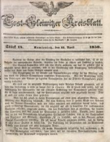 Tost-Gleiwitzer Kreisblatt, 1850, Jg. 8, St. 15