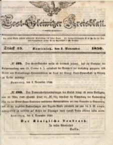 Tost-Gleiwitzer Kreisblatt, 1850, Jg. 8, St. 45