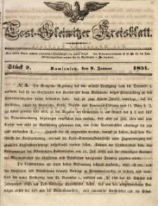 Tost-Gleiwitzer Kreisblatt, 1851, Jg. 9, St. 2