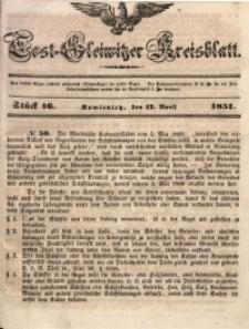 Tost-Gleiwitzer Kreisblatt, 1851, Jg. 9, St. 16