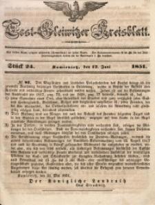 Tost-Gleiwitzer Kreisblatt, 1851, Jg. 9, St. 24