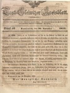 Tost-Gleiwitzer Kreisblatt, 1851, Jg. 9, St. 47