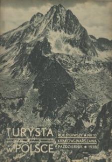 Turysta w Polsce, 1935, R. 1, nr 10