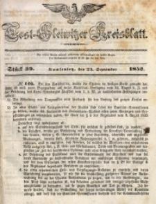 Tost-Gleiwitzer Kreisblatt, 1852, Jg. 10, St. 39