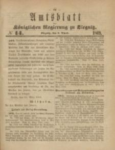 Amts-Blatt der Königlichen Regierung zu Liegnitz, 1869, Jg. 59, No. 14