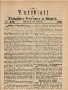 Amts-Blatt der Königlichen Regierung zu Liegnitz, 1869, Jg. 59, No. 48