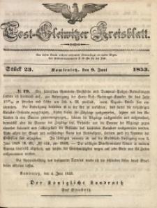 Tost-Gleiwitzer Kreisblatt, 1853, Jg. 11, St. 23