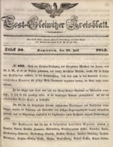 Tost-Gleiwitzer Kreisblatt, 1853, Jg. 11, St. 30