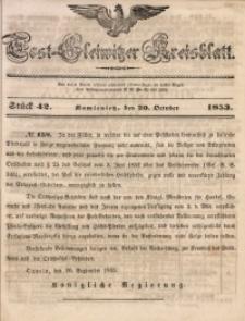 Tost-Gleiwitzer Kreisblatt, 1853, Jg. 11, St. 42