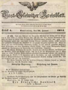 Tost-Gleiwitzer Kreisblatt, 1854, Jg. 12, St. 4