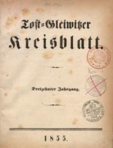 Tost-Gleiwitzer Kreisblatt, 1855, Jg. 13, St. 1