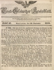 Tost-Gleiwitzer Kreisblatt, 1855, Jg. 13, St. 37