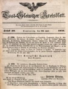 Tost-Gleiwitzer Kreisblatt, 1857, Jg. 15, St. 30