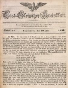 Tost-Gleiwitzer Kreisblatt, 1857, Jg. 15, St. 31