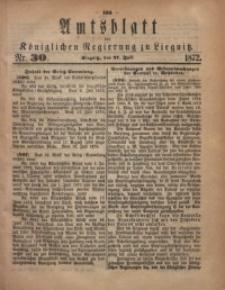 Amts-Blatt der Königlichen Regierung zu Liegnitz, 1872, Jg. 62, No. 30