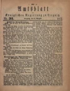 Amts-Blatt der Königlichen Regierung zu Liegnitz, 1872, Jg. 62, No. 31