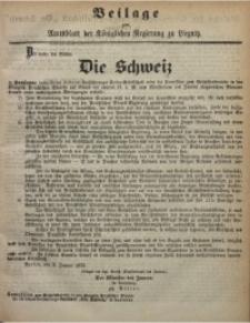 Beilage zum Amtsblatt der Königlichen Regierung zu Liegnitz