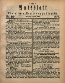 Amts-Blatt der Königlichen Regierung zu Liegnitz, 1873, Jg. 63, No. 19